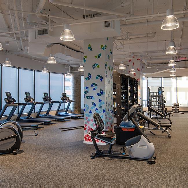 Gym at 8200 Greensboro Drive, McLean VA