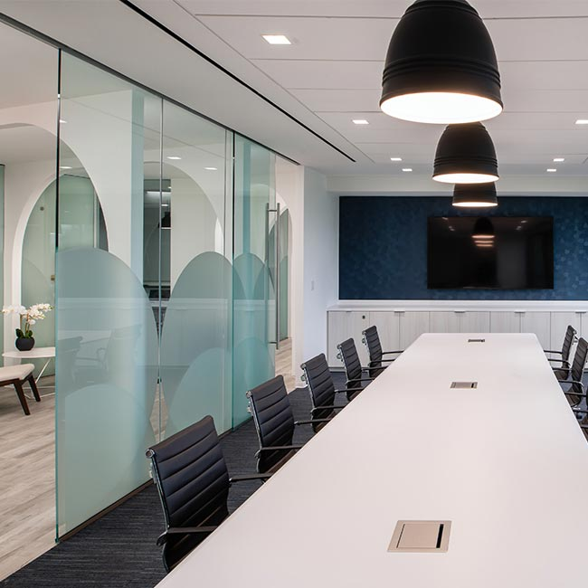 Conference room at Cordia Partners, Vienna VA
